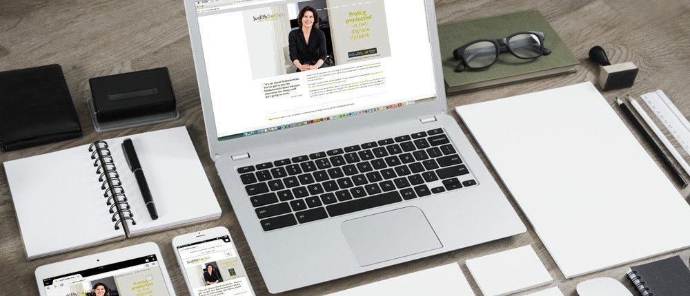 Judith Bolder Organiseert - website
